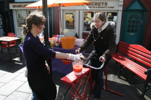 Bicycle Smoothie Maker