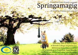 Poster Springamagig 2013